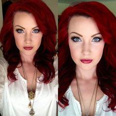 lindos cabelos ruivos