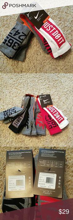Nike NWT men's socks  bundle of 2 Nike NWT men's socks size 8-12 bundle of 2. 3 packs Nike Underwear & Socks Athletic Socks