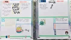 Red Fawn Designs stickers in my KIT Life Planner