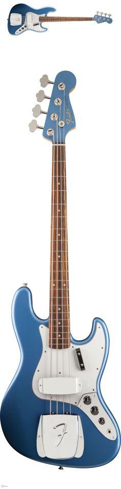 I adore this colour. Fender Bass Guitar, Fender Guitars, Jazz Colors, Fender American Vintage, Lake Placid Blue, Bass Lake, Fender Squier, Bass Amps, Custom Guitars