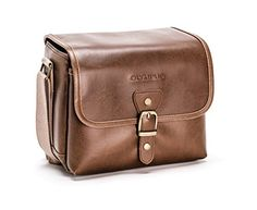 Buy Olympus Tracker Classic Design Vintage Camera Bag (Brown) - Topvintagestyle.com ✓ FREE DELIVERY possible on eligible purchases