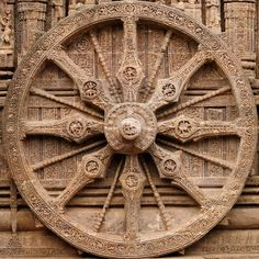 Konark Sun Temple http://holographicarchetypes.weebly.com/archetypal-integers.html ...108 has to do with the numbers of revolutions of sun in the various epochs.