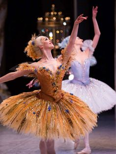 Artists of The Australian Ballet in The Sleeping Beauty. Costumes by Gabriela Tylesova. Photos by Kate Longley and Lynette Wills