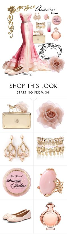 """Aurora from ""Sleeping Beauty"" PROM"" by le-piano-argent ❤ liked on Polyvore featuring Alexander McQueen, Versace, Accessorize, Shaun Leane, River Island, Lucifer Vir Honestus and Paco Rabanne"