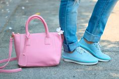 #rosegal #pink #bag #sneakers #details #maylovefashion
