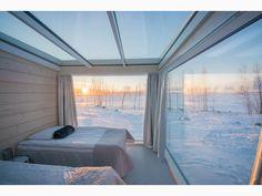 visitkemi.fi / Kemi, Finland / overlooking the frozen Bay of Bothnia