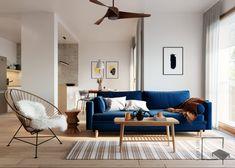 9 stvari koje morate znati prije kupovine novog trosjeda - Indizajn s Mirjanom Mikulec Living Room And Dining Room Design, Couch, Home Decor, Settee, Decoration Home, Sofa, Room Decor, Sofas, Home Interior Design
