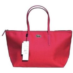 98e14d375f6bf Lacoste Nf0548po Red Tote Bag. Get one of the hottest styles of the season!