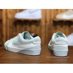 low priced dc699 70b49 Nike Blazer City Low SD AV2253 700 Grey Green White Unisex Skateboarding  Shoes