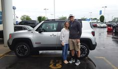 Congratulations and Best Wishes Savannah on the purchase of your 2016 JEEP RENEGADE!  We sincerely appreciate your business, Landmark Ford and JEREMY LOOKIS.