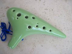 Utopia Ceramic Ocarina Key Lime Yellow Green Alto C Key High temperature Kiln Treated good Hardness Endurability by Utopia. $52.95. Yellow Green (Key Lime Color) Ceramic Ocarina. Alto C Key Under High temperature controlled Kiln treatment - hardness and endurance guaranteed. Sounding is good - voluminous, mellow, crystal clear and bird chirpy.   Size:  6 7/8(Width) * 4(Height) * 2(Length) inch  Weight: 10 Ounce  ** Plese view pictures for the feeling **      Pictures co...