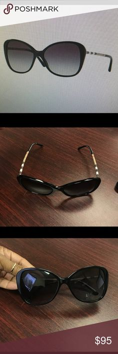 Designer Sunglasses Burberry Butterfly Sunnies..... Beautiful pair of shades... Worn Once to the beach !! Burberry Accessories Sunglasses