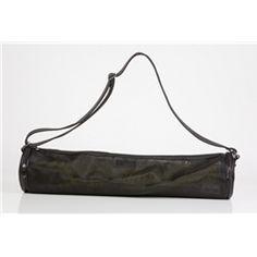 One Hot Mesh! Yoga Mat Bag in Black