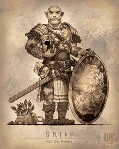 An adventure party with background Kevin S. Commission your custom D&D character art here! Fantasy Character Design, Character Concept, Character Inspiration, Character Art, Concept Art, Character Ideas, Character Creation, Fantasy Warrior, Fantasy Rpg