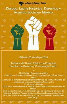 Diálogo: Lucha Histórica, Derechos y Acuerdo Social en México, Facultad de Derecho de la UANL