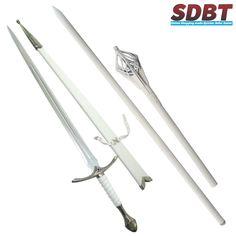 Staff of #Gandalf & Glamdring #Sword of Gandalf the White