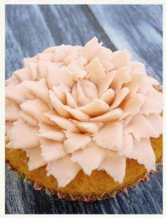 Cupcakes de vainilla con ron