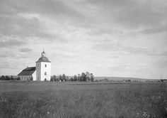 Våmhus Church, Dalarna, Sweden | Flickr - Photo Sharing! Iglesias, Sweden, Restoration, Tower, Country Roads, Clouds, Building, Photos, Temples