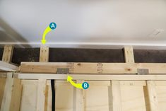 """Need a bed (or two) but don't have space for another permanent """"bedroom?"""" Is your old college futon/hand-me-down guest bed/blow-up mattress no longer cutting it? We have a solution -- DIY your own Murphy bed! Check out our project and get inspired! Murphy Bed Kits, Build A Murphy Bed, Murphy Bed Plans, Murphy Beds, She Shed Interior Ideas, Diy Interior, Homemade Wall Decorations, Room Decorations, Timber Frame Cabin"""
