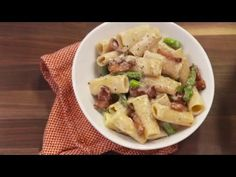 How To Make Cheesy Asparagus Pasta | Delish