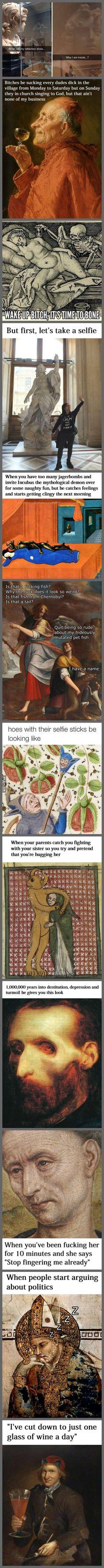 Classical Art Memes Latest (Part-12)