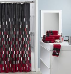 Towel Set Shower Curtains And Towels On Pinterest