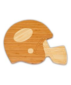 Look at this Football Helmet Cheese Board on #zulily today!