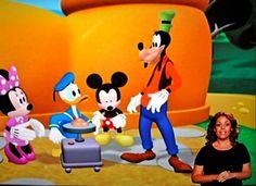 La casa de Mickey Mouse ahora en lengua de signos