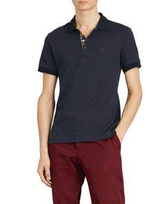 d8c10fb1d99 Peter Millar Men s Windel Stripe Jersey Polo Shirt