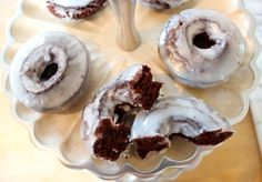 A #recipe for Frosted #Chocolate Cake #Doughnuts via @O.B. Wellness Maczonis #donuts  http://thechicbrulee.com/2013/08/30/frosted-chocolate-cake-doughnuts/