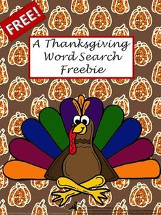 FREE+A+Thanksgiving+Word+Search+&+Key+Printable+Worksheets+from+TiePlay+Educational+Resources+LLC+on+TeachersNotebook.com+-++(4+pages)++-+Free+A+Thanksgiving+Word+Search+allows+your+kids+to+search+for+key+words+specific+to+the+Thanksgiving+holiday.+