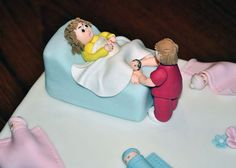 Midwives Cake Toppers