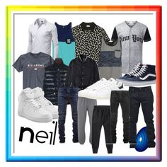 """""""Untitled #148"""" by tumblrsaved2 on Polyvore featuring Yves Saint Laurent, Volcom, Insight 51, Billabong, Moncler, Mastermind, Vans, NIKE, Balmain and Lyle & Scott"""