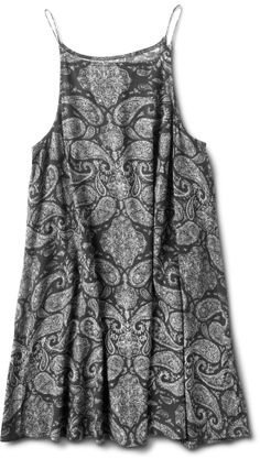 Black Paisley Marie Dress in stores