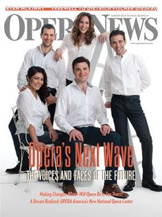 A Liberal's Libretto: I've been thinking - does this OPERA NEWS cover touting opera's next generation show us that opera is turning bland, generic and plain? Click through for my thoughts...