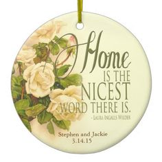 Beautiful Keepsake Ornament  http://www.zazzle.com/beautiful_keepsake_ornament-175616632804903575?rf=238682934585620601  #ornament #gift  #wedding  #shower  #newlyweds  #vintage
