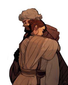 They'll be back. One day. #Star Wars  #Rey  #Luke Skywalker
