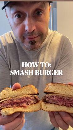 Burger Recipes, Beef Recipes, Fun Baking Recipes, Cooking Recipes, Yummy Eats, Yummy Food, Goody Recipe, Hamburgers, Beef Dishes