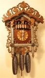Bahnhäusle German Musical Cuckoo Clock