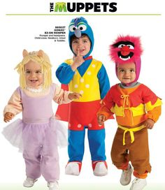 Muppets Costumes Muppets Animal Baby Costume