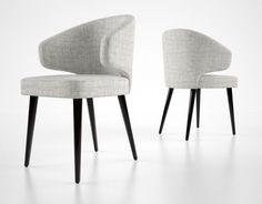 3d minotti aston dining chair #DiningChair