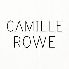 Camille Rowe Style, Decor, Decoration, Decorating, Deco