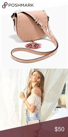 """FREE w/purchase*Victoria's Secret Crossbody NWT New with tags in packaging. Blush/Cream color. Measures approximately 7"""" Length, 2"""" Width, 5.5"""" High. FREE with purchase of $100 or more. I do NOT trade or hold items. Victoria's Secret Bags Crossbody Bags"""
