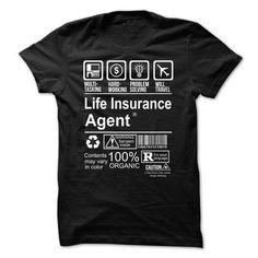 Hot Seller - LIFE INSURANCE AGENT T Shirts, Hoodies Sweatshirts. Check price ==► http://store.customtshirts.xyz/go.php?u=https://www.sunfrog.com/Faith/Hot-Seller--LIFE-INSURANCE-AGENT.html?41382
