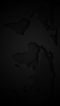 World Map Dark iPhone Wallpapers