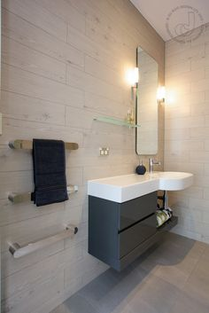 Heated Towel Rails. Cabin Bathroom | Du Bois Design Ltd
