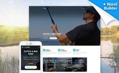 BigFish - Fishing Website Template