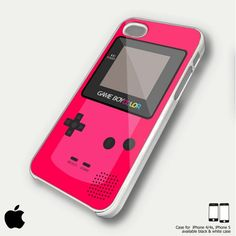 awesome iphone 5 cases | Custom Case for iPhone 4/4S Awesome Gameboy pink case | casingshop ...