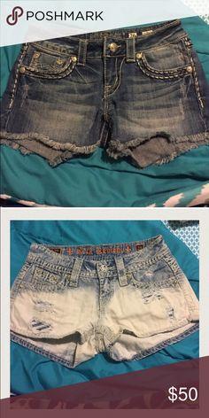 Rock Revival & Miss Me Bundle 2 pairs of shorts Shorts Jean Shorts