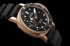 Luminor Submersible 1950 3 Days Automatic Oro Rosso – 42 mm (Image courtesy of Panerai)